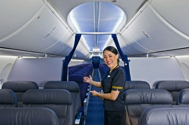 Why your brand new plane doesn 39 t have a seat back tv for First class 8 interieur