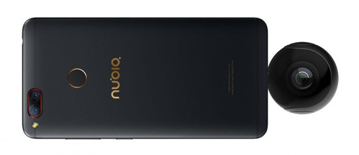 Nubia NeoAir VR: Die 360°-Kamera zum Aufstecken aufs Smartphone