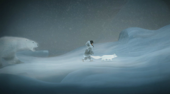Explore Alaska Native stories with Never Alone's ice climbers