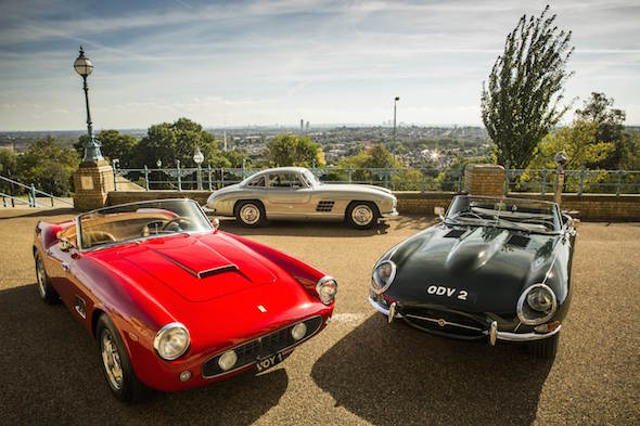 Iconic Cars To Go Under The Hammer At Classic Sports Car Show - Iconic sports cars