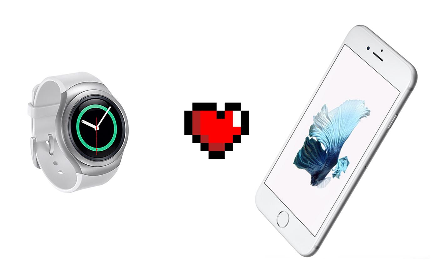El Gear S2 de Samsung ya es compatible con iOS
