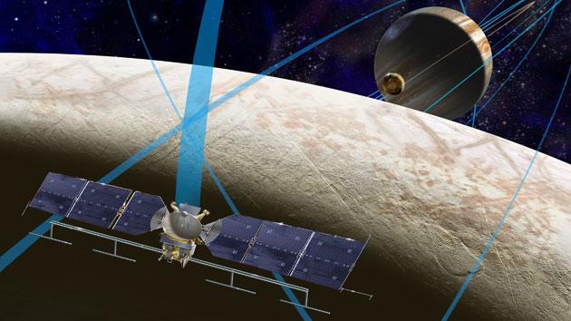 NASA picks the scientific tools it'll use to study Europa