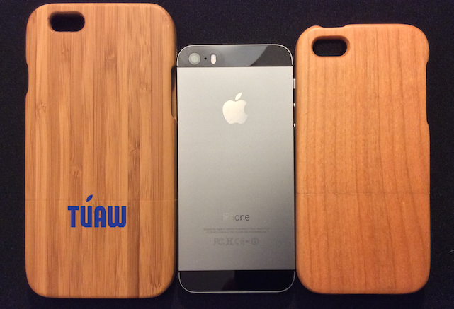 iPhone 6 case next to iPhone 5s, iPhone 5s case