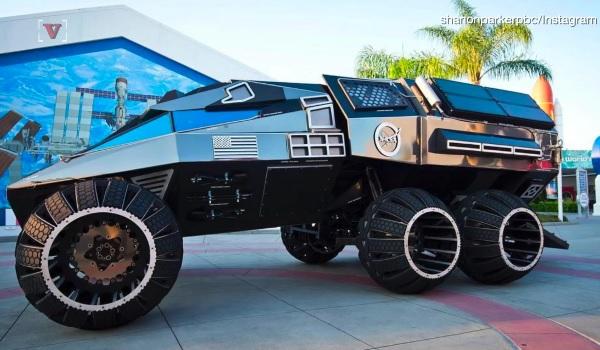 バットモービルそっくり!マーズ・ローバー(火星探査車)の新型コンセプトが公開