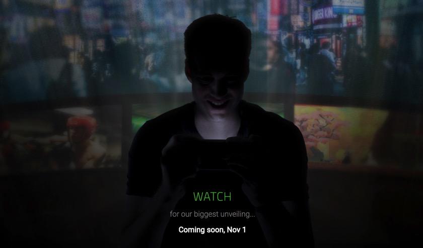 Das Smartphone von Razer wird am 1. November vorgestellt