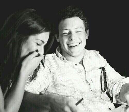 Lea Michele Cory Monteith birthday tribute pic