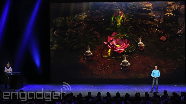 'Vainglory' at Apple's iPhone 6 event