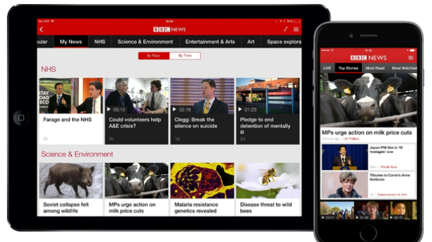 BBC's redesigned news app is all about personalisation