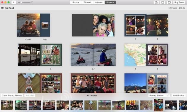 Photos in OS X Yosemite