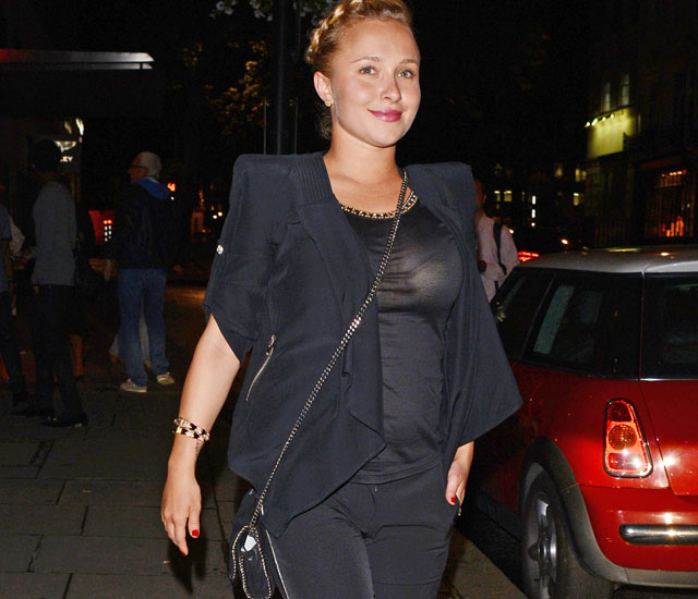 Pregnant Hayden Panettiere enjoys romantic night with Wladimir Klitschko