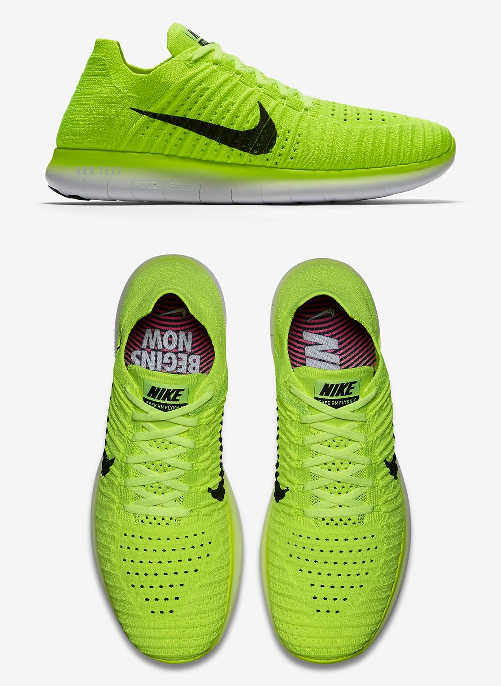 Nike USA podium neon shoes