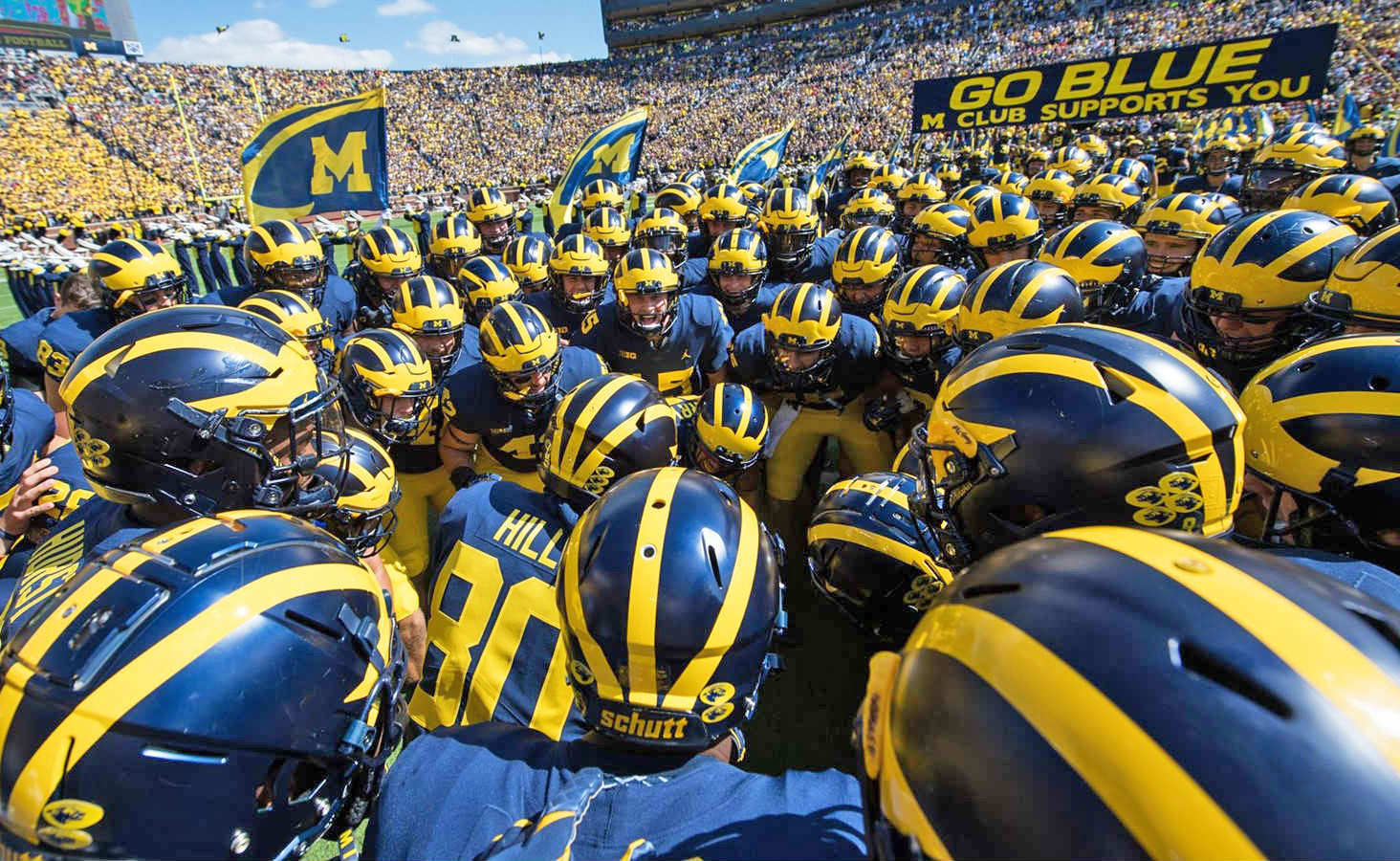 photo image Amazon's next docuseries follows the U of M football team