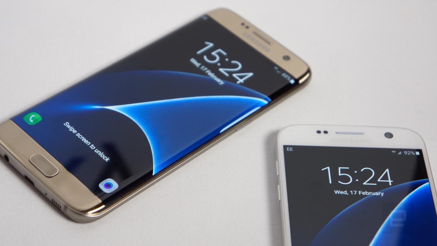Samsung Galaxy S7 y S7 Edge: Músculo y traje de baño