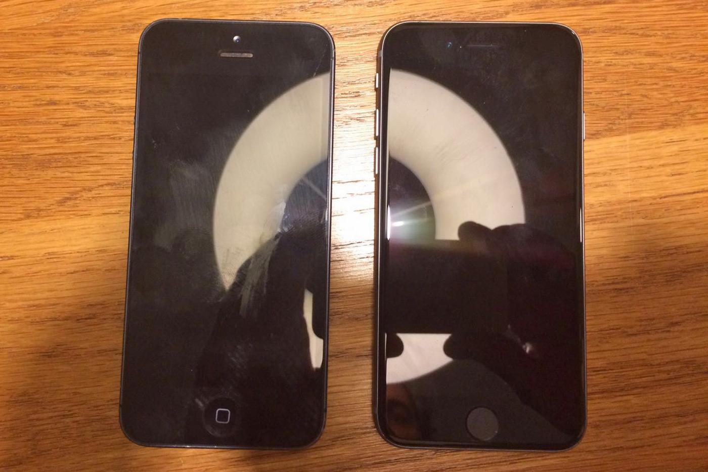 """¿Es este el nuevo iPhone de 4""""? ¿y lleva un A9 en su interior?"""