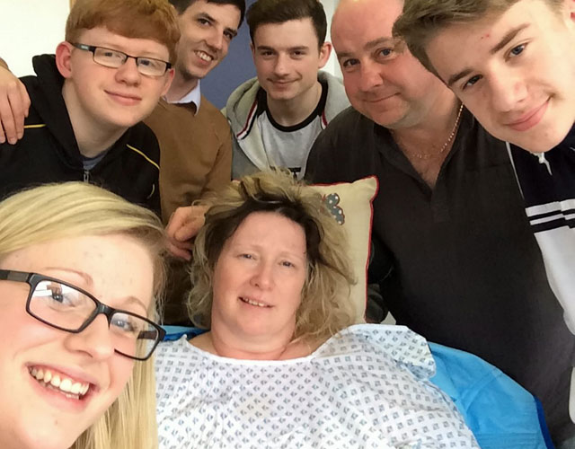Mum of four wakes from coma when husband plays wedding songs