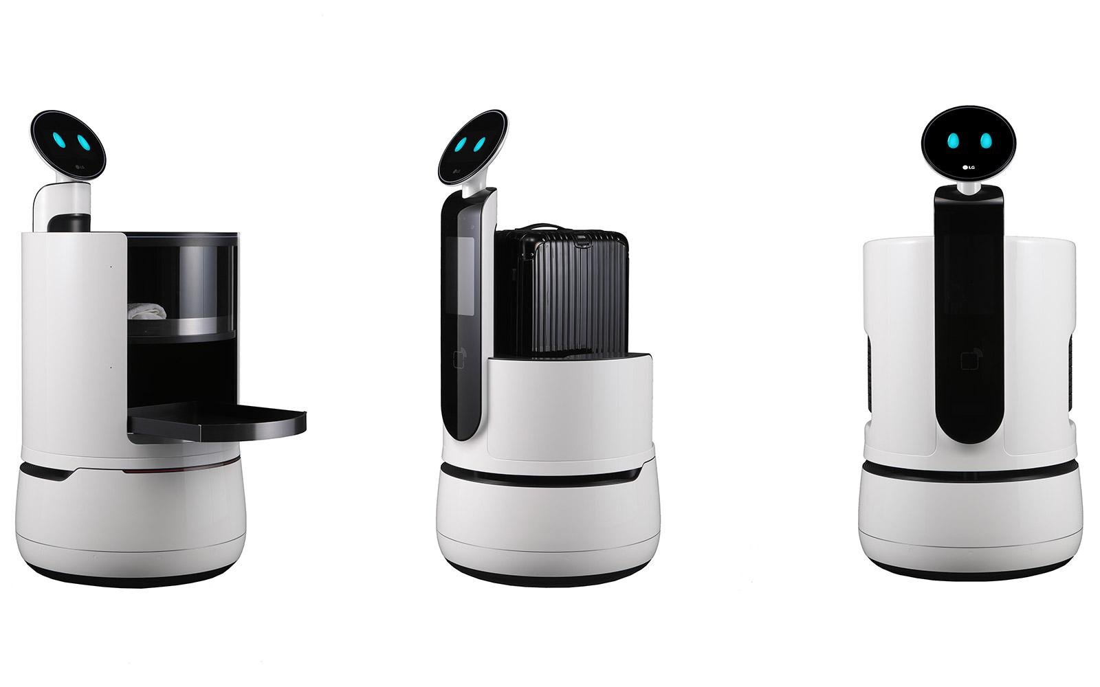 CLOi: LG bringt drei neue Roboter zur CES