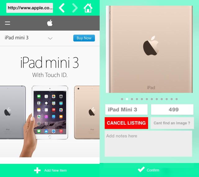 Store It wishlist app
