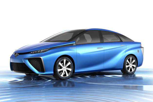 Toyota FCV Hydrogen Car