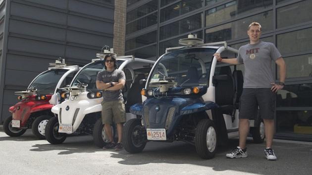 フォードとMIT、LiDARとカメラで周囲の歩行者を認識・記録する小型電動車両を開発
