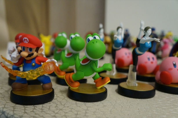 Super Smash Bros. Amiibo figures are part trophy, part protégé