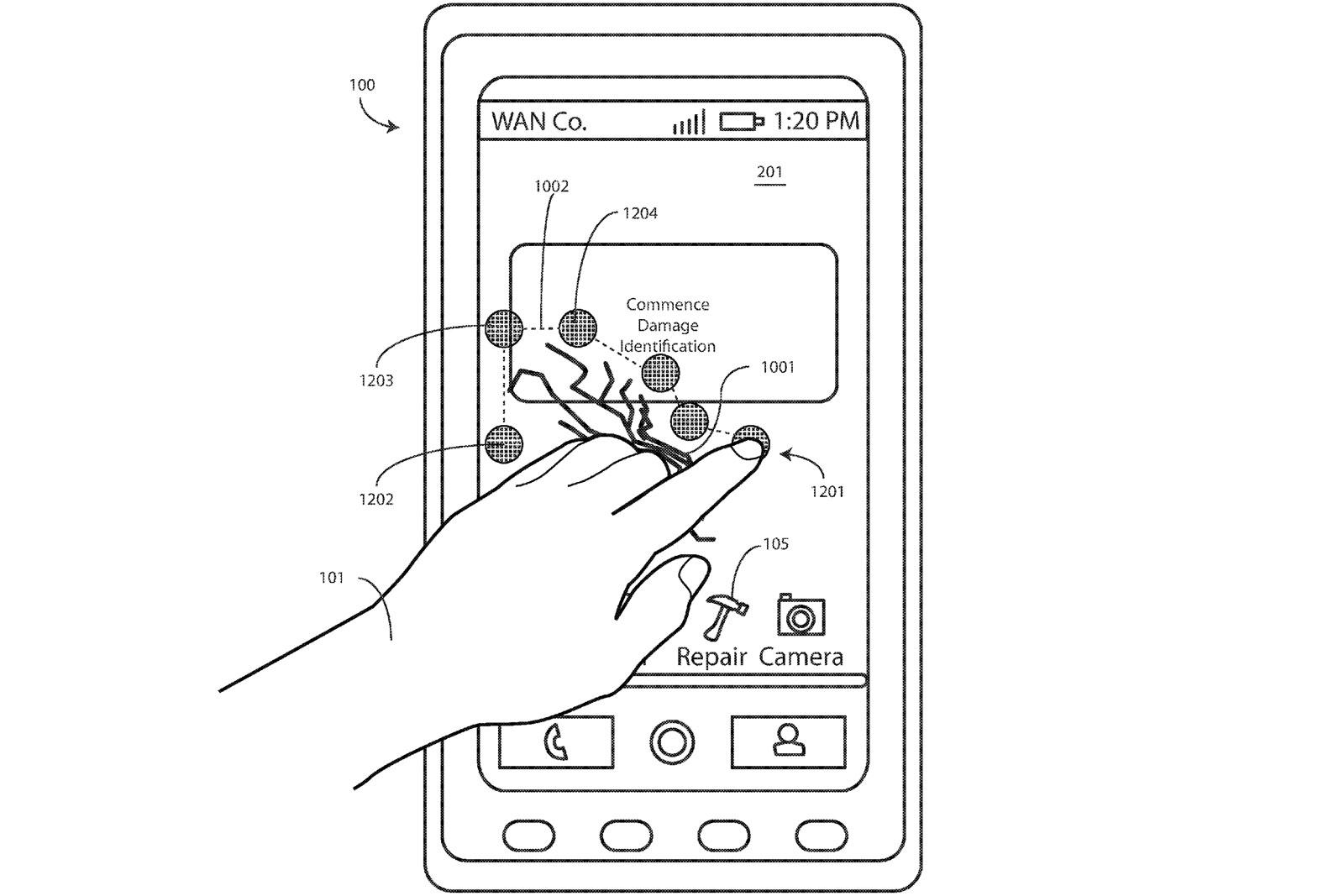 Motorola patenta una pantalla para smartphone que se repara sola con calor