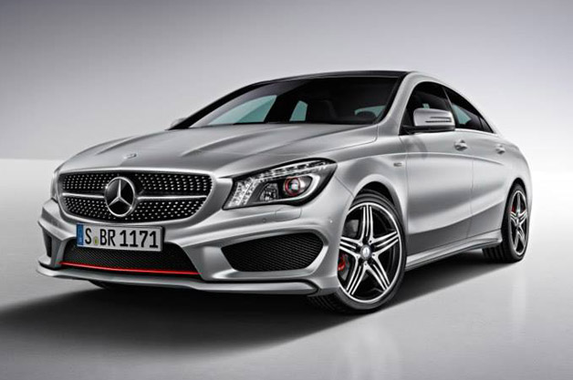 Mercedes-Benz CLA250 Sport Package Plus