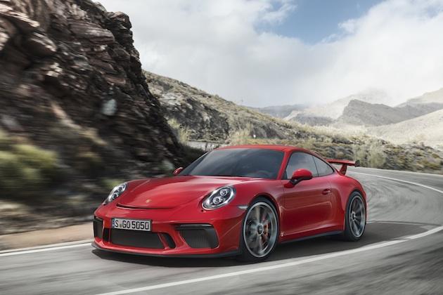 ポルシェ、500馬力に向上した「911 GT3」を発表 6速MTも復活!
