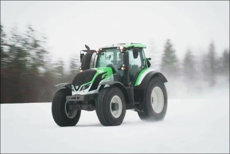 schnellster traktor