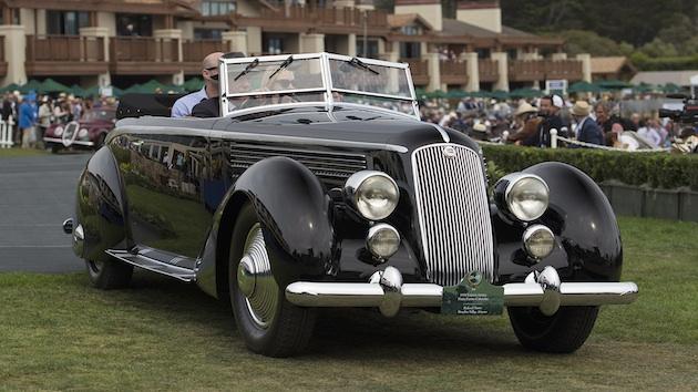 今年のペブルビーチで最高の賞に輝いたのは、1936年型ランチア「アストゥーラ ピニンファリーナ カブリオレ」!