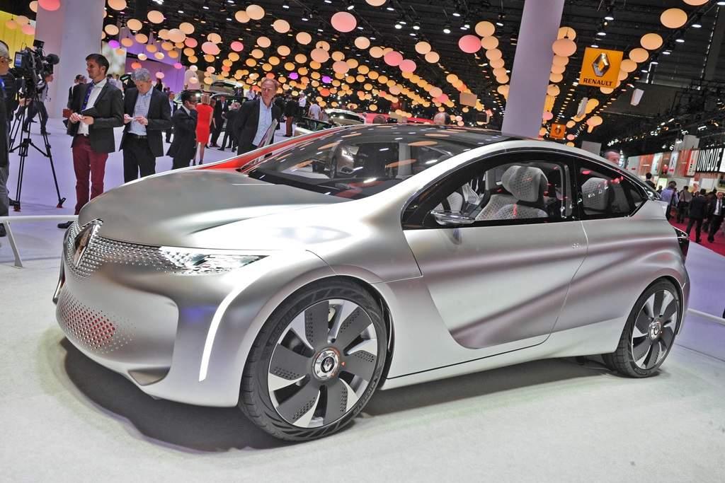 Renault, Renault EOLAB, 1-Liter-Auto, Sprit sparen, Kraftstoff sparen, Auto salon Paris, Pariser Auto salon, Renault Z.E., Z.E. Hybrid, Renault Hybrid, EOLAB