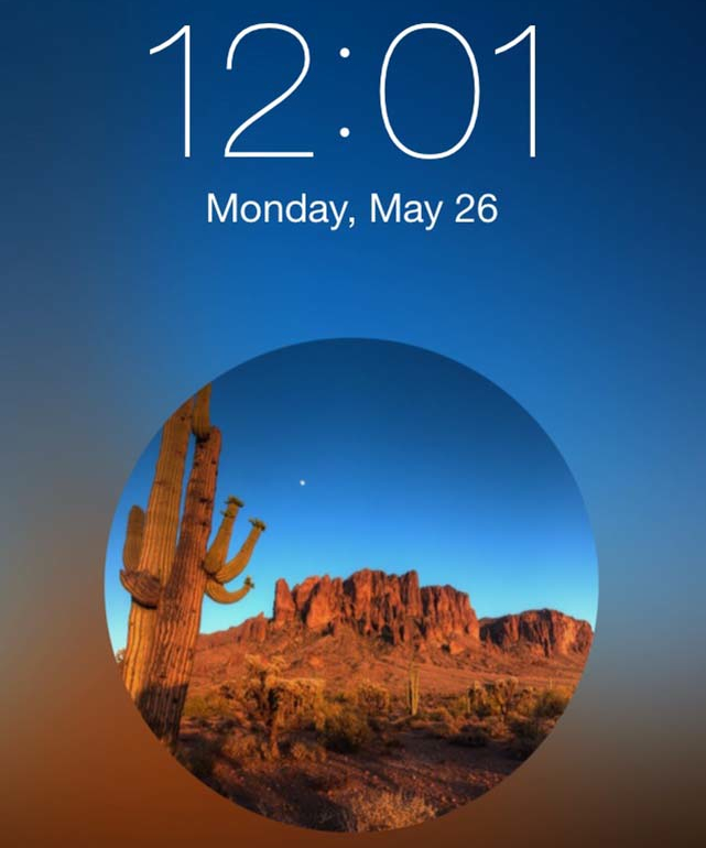 Lockscreen Wallpaper Designer iPhone