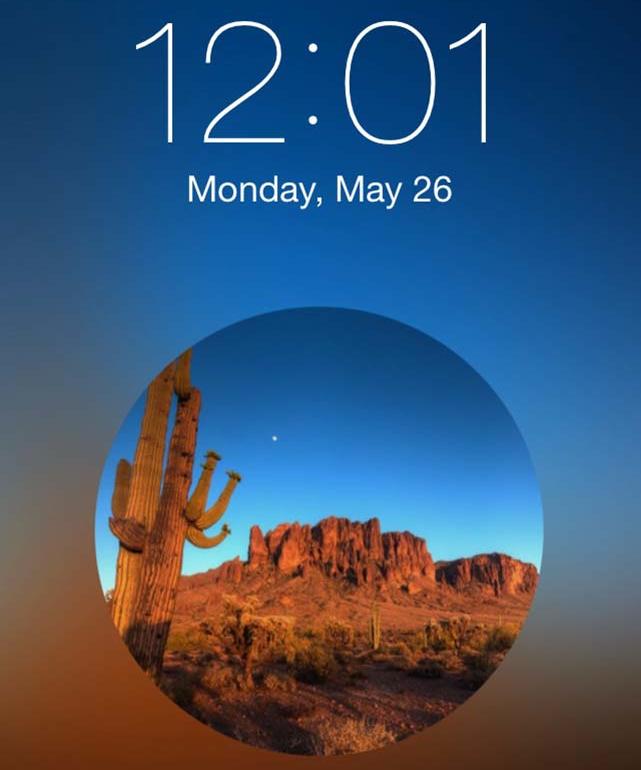 Lockscreen Wallpaper Designer iPhone