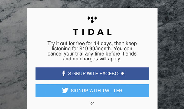 Tidal's 'High Fidelity' test rewards audiophiles with half as much free trial