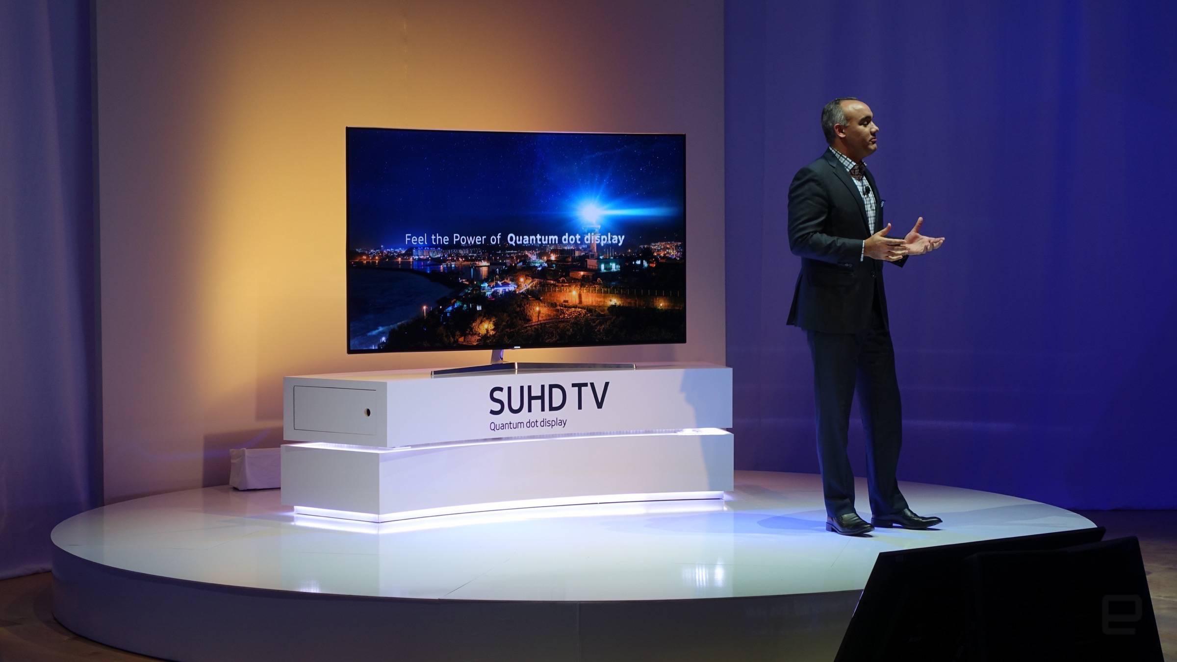 Las nuevas TV de Samsung presumen de Quantum Dots y conectividad con el hogar