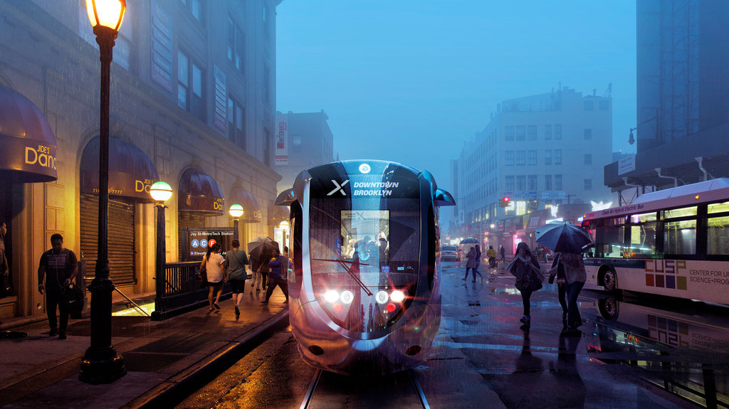 NYC mayor wants a streetcar to connect Brooklyn and Queens