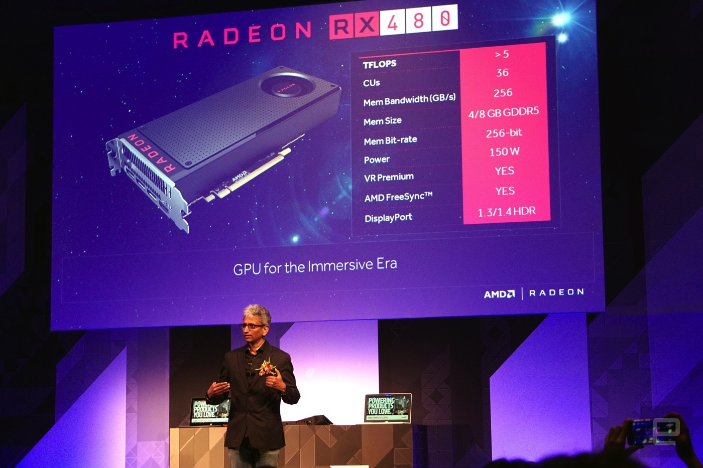 AMD Radeon RX480: Realidad Virtual por sólo 199 dólares