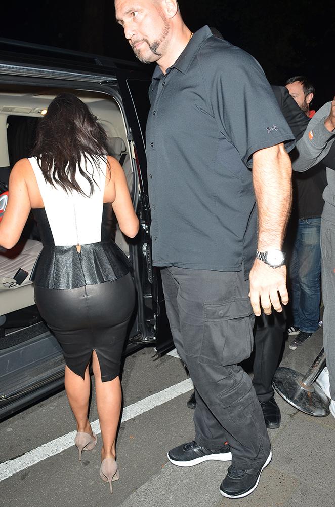kim kardashian butt rip