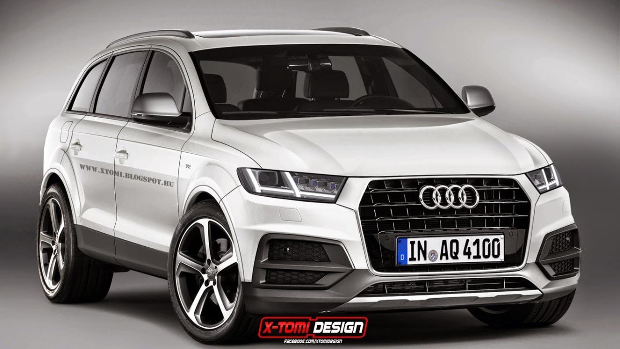 Rendering: der neue Audi AQ7 zeigt sich