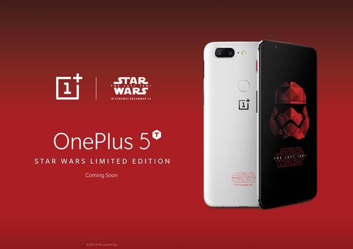 OnePlus 5T kommt in einer StarWars-Edition