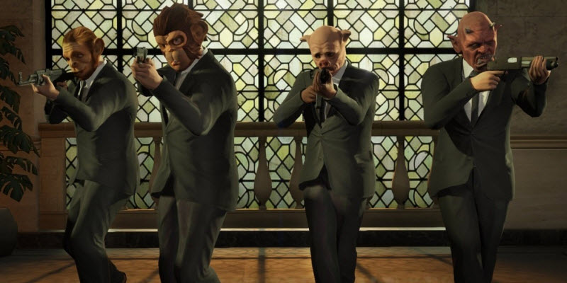 Pull off the greatest heists you can in GTA Online with this trailer