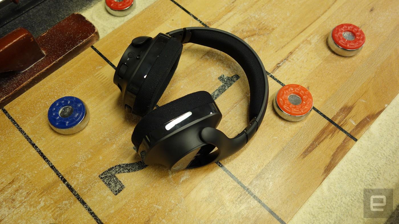 Estos auriculares de Logitech te ofrecen sonido DTS sin cables por 150 dólares