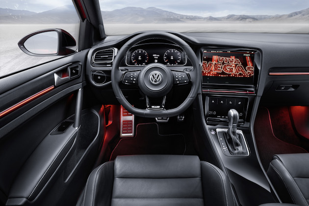 Volkswagen's connected cars have three smart displays and park themselves