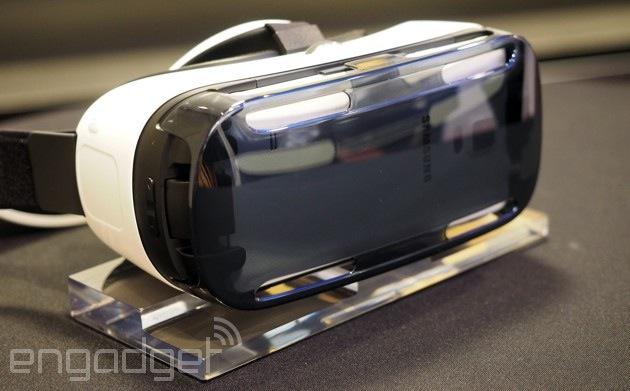 Samung Gear VR demo units start showing up in Best Buy