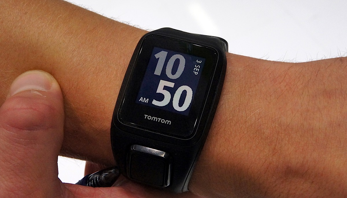 TomTom's newest fitness watch plays music, too