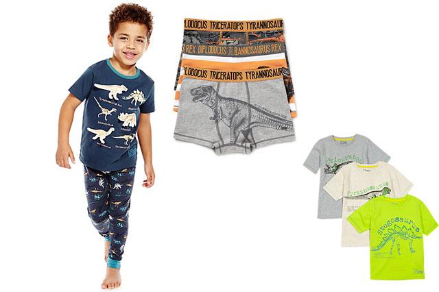 Marks and Spencer boys' only dinosaur range
