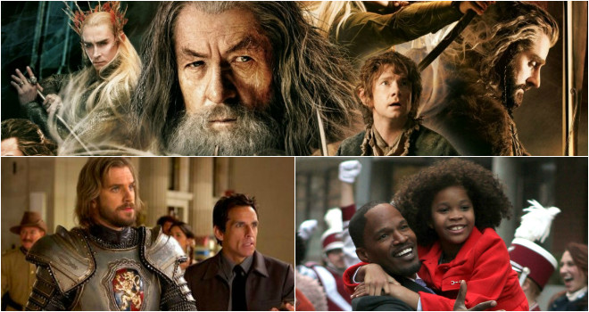 weekend box office the hobbit battle of the five armies