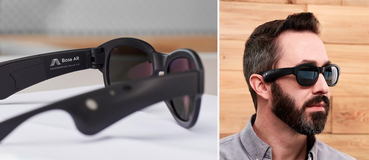 Bose zeigt AR-Brille mit erweiterter Klang-Realität