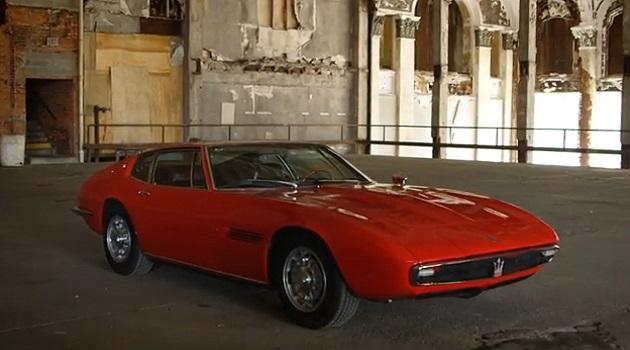 【ビデオ】1967年型マセラティ「ギブリ」は最高のグランドツアラー!