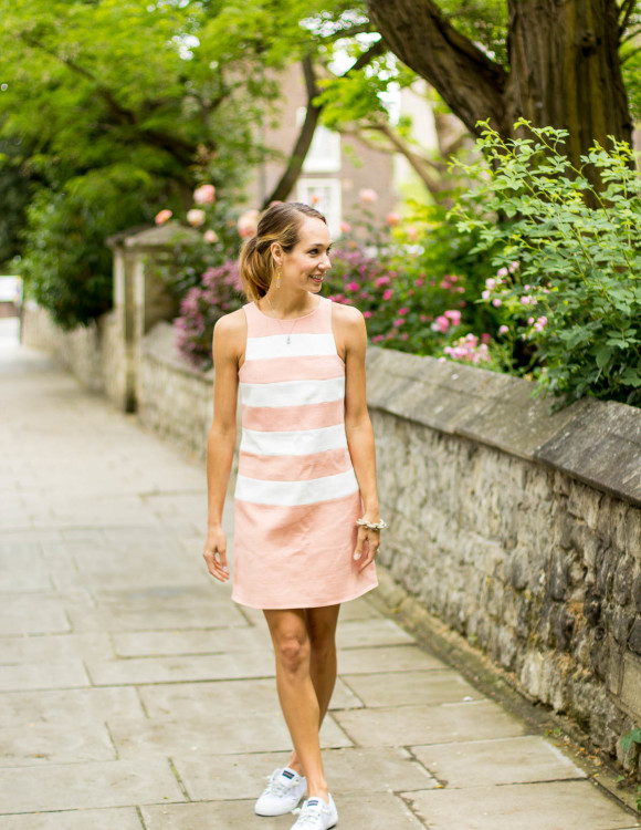 Street style tip of the day: Pastel stripes