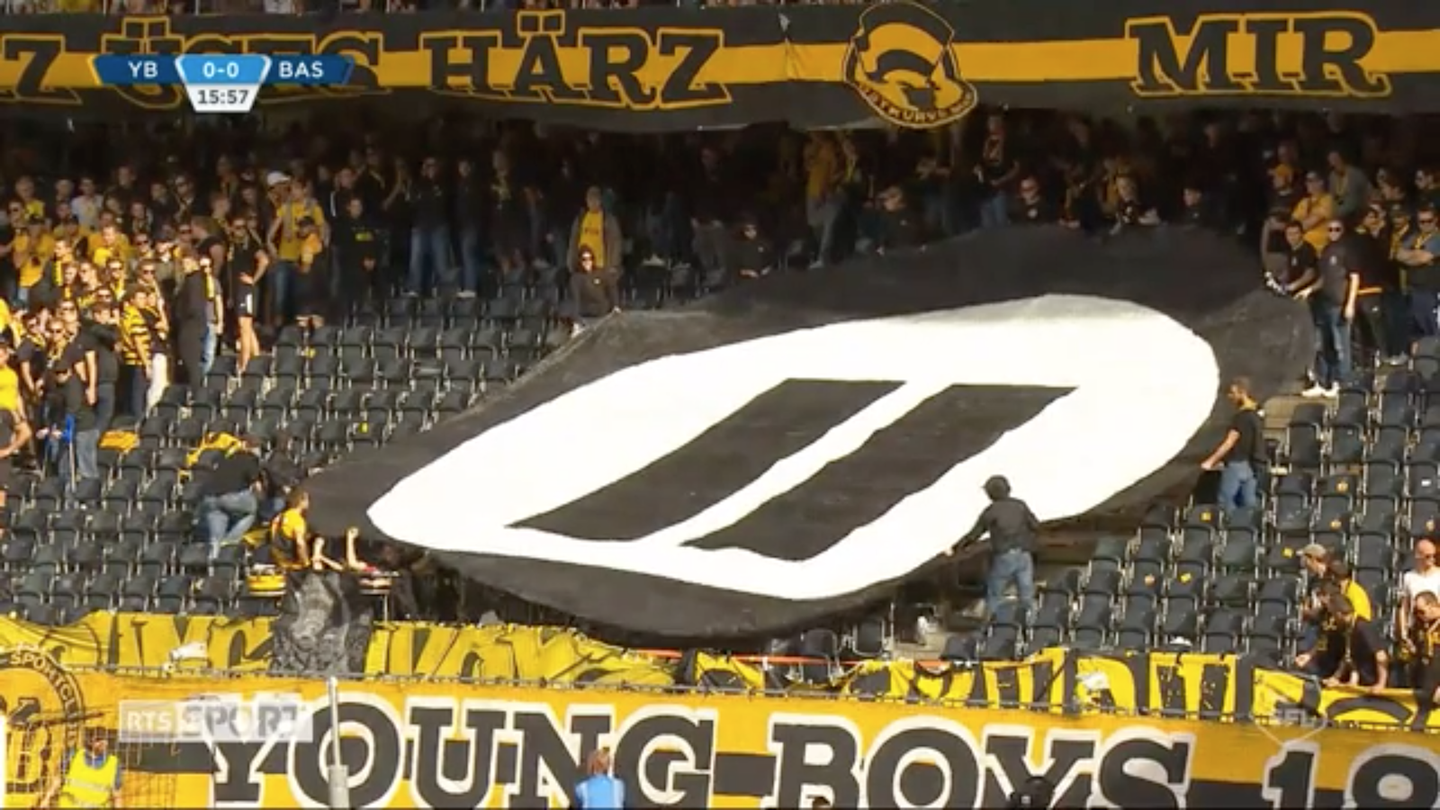 Swiss soccer fans interrupt game to protest esports